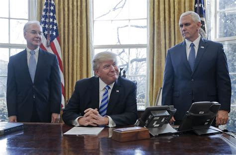 trump in oval office donald trump mike pence tom price shareblue media