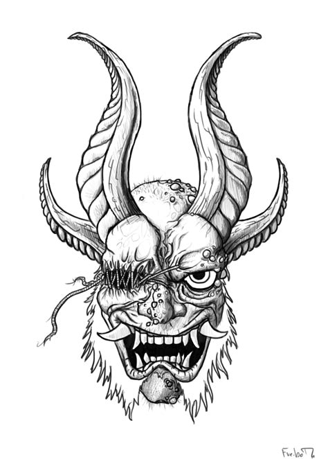 oni by chileconcarnage on deviantart