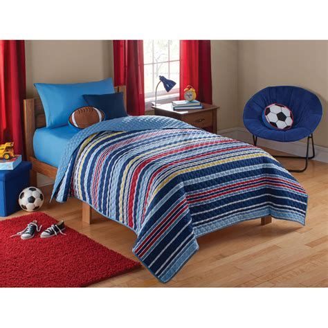 walmart boys bedding kids quilts walmart com