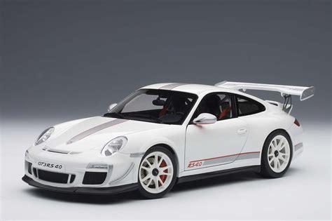 Diecast Porsche Gt3 Rs autoart die cast model porsche 911 997 gt3 rs 4 0 white
