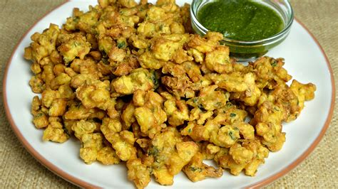 crispy aloo pakoras potato fritters manjula s kitchen