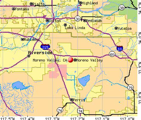 moreno valley california map moreno valley california map