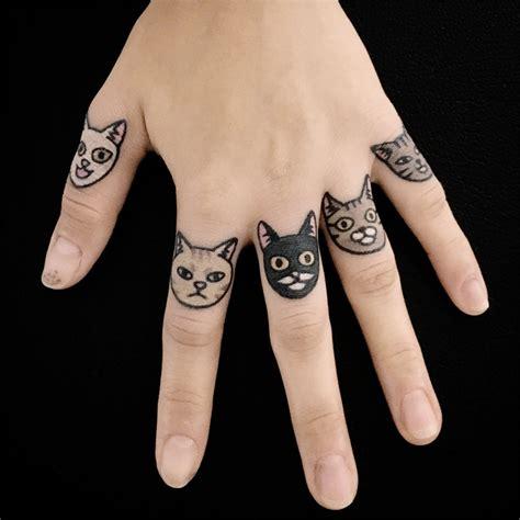 animal tattoos  endearing  minimalism  jiran