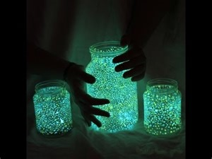 diy fairy glow jars youtube