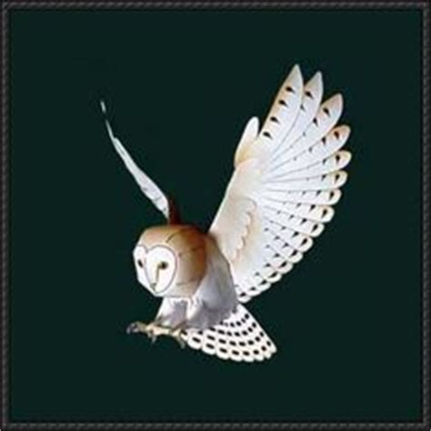 Papermau Barn Owl Miniature Paper Model By Ayumu Saito - how to build model houses from balsa wood how to make