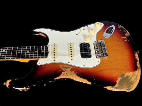 fender stratocaster  custom shop heavy relic