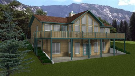 walk out ranch house plans walkout basements by e designs 1
