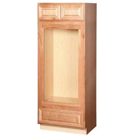 double oven cabinet home depot hton bay cambria assembled 33 x 84 x 24 in pantry
