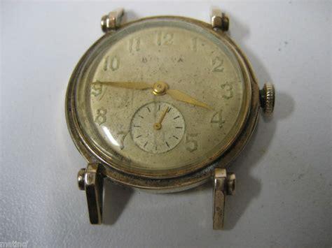 antique 10k gold filled bulova gent ebay