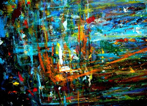 acrylic painting jungle jungle boogie 130104 1 painting by aquira kusume