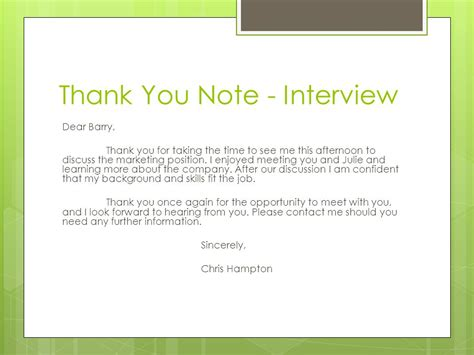 Thank You Note For Informational Thank You Notes Reasons To Write A Thank You Note To Show Gratitude Ppt