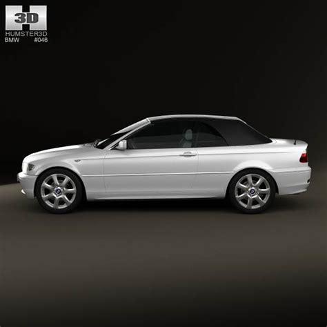 2004 bmw 3 series convertible bmw 3 series convertible e46 2004 3d model hum3d