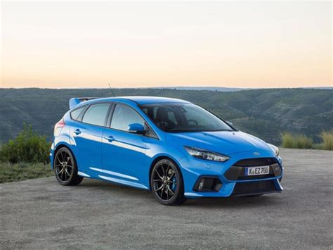 New Ford Focus Rs by All New Ford Focus Rs Goes On Sale Here In April