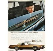 1968 Cadillac Eldorado Advertisement  CLASSIC CARS TODAY
