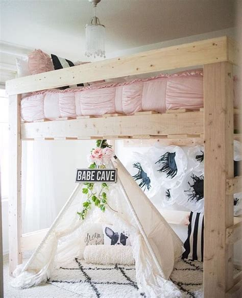 bedroom things for girls loft caves and pink black on pinterest