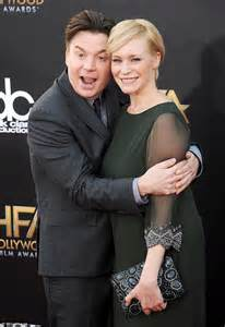 mike myers mother mike myers and wife kelly they welcome baby daughter