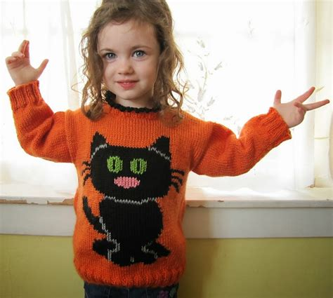 knitting pattern sweater for cat the knitting needle and the damage done halloween