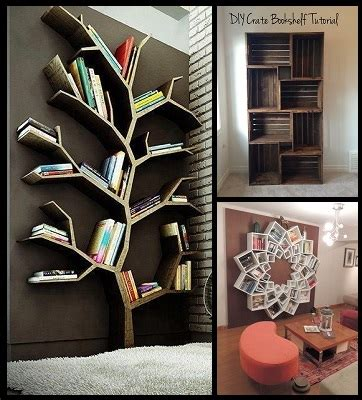 creative diy bookshelf www pixshark images