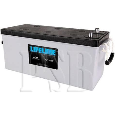 Susumu Suzukis Water Powered Battery by Gpl 4da Lifeline Oem 12 Volt 210ah 4d Sealed Agm