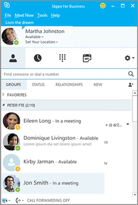skype for business | it department