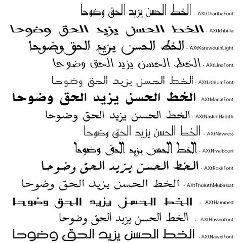 do script alphabets like arabic have many different