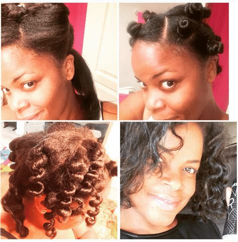 heatless hairstyles for natural hair heatless methods for natural hair styles
