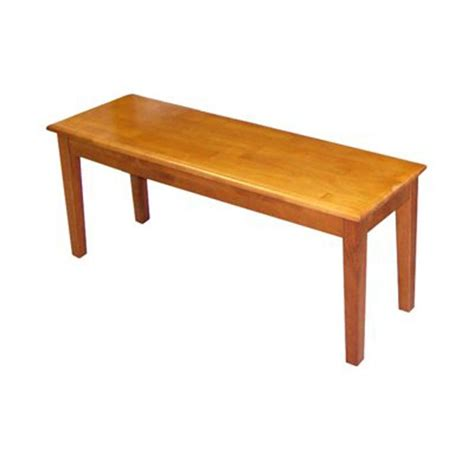 shaker dining bench shop boraam industries shaker dining bench at lowes com