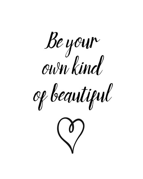 be your own of beautiful free printable