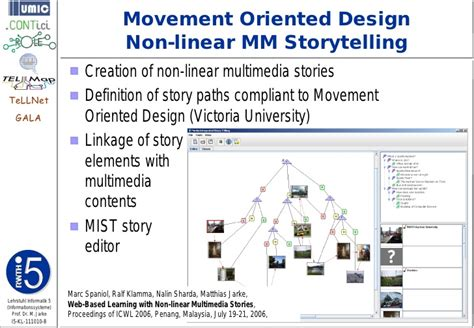 design of linkage editor collaborative storytelling on the web 2 0