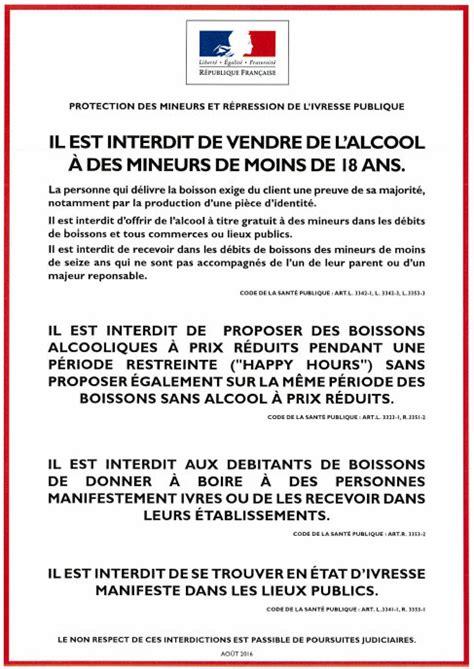 Modele Affiche Prix Boissons