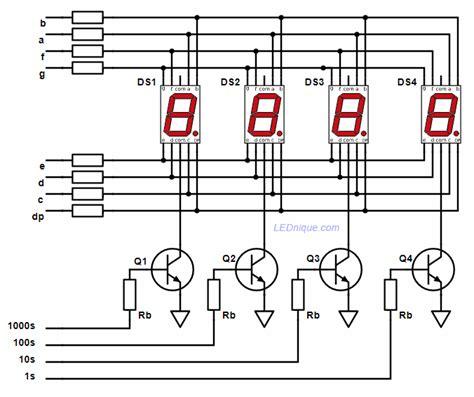 7 Segmen Seven Segment Led Display 1 Digit Common Cathode 056 7 segment display basics lednique
