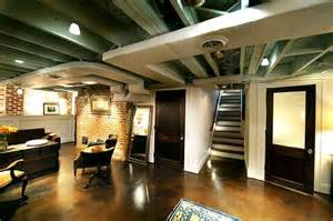 semi finished basement semi finished basement ideas for the home