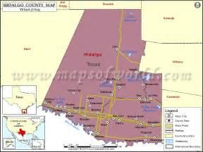 hidalgo county map map of hidalgo county