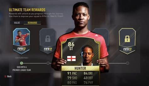 alex hunter fifa 17 fifa 17 alex hunter ultimate team card leaked product