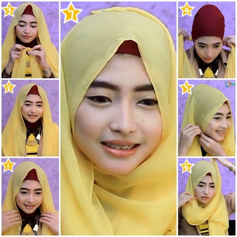hijab tutorial pashmina for party tutorial hijab pashmina ceruti pesta