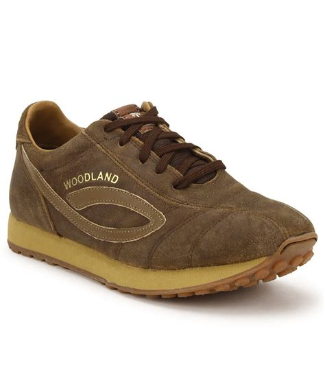 woodland brown outdoor casual shoes available at snapdeal