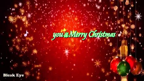merry christmas happy  year  song chipmunk version youtube