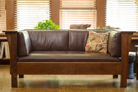 Prairie Style Sofa by Prairie Sofa And Seat Dcw Woodworks