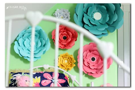 Diy Paper Flower Wall Decor by Diy Paper Wall Flowers Do It Your Self