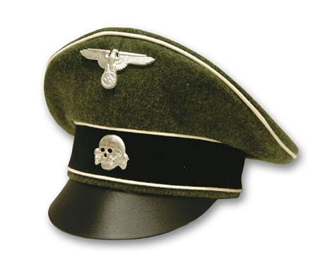 German Officer Hat by German Waffen Ss Officer Crusher Hat Reddick Militaria