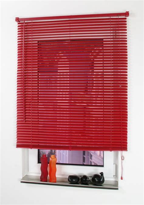 jalousie rot casa kunststoff jalousie rot 220 x 110 cm norma24