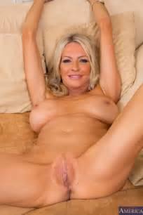 wild blonde milf emma starr likes to show off and masturbate her wet