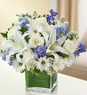 healing tears bouquet: 1 800 flowers sympathy collection