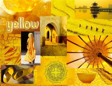 yellow mood thelazygiraffe blog moodboard in yellow