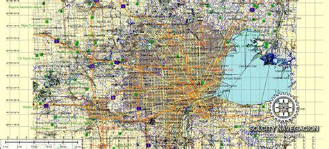 usa map ai map detroit michigan usa ai 7