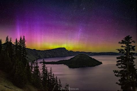 See The Incredible Northern Lights Display From Oregon Lights Oregon