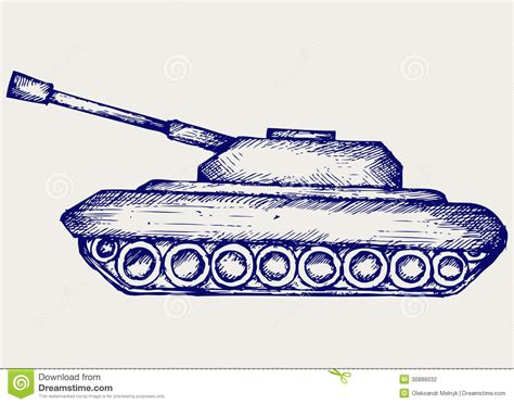 doodle tanks battle tank stock photography image 30886032