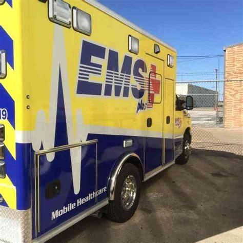 ford ambulance 2015 emergency trucks