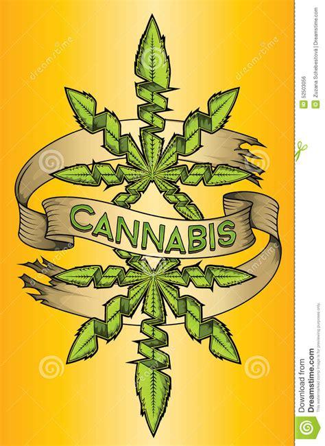 cannabis marijuana ganja green leaf design advertising