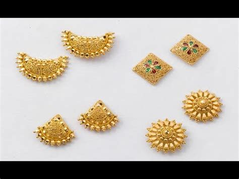 light weight gold earrings designs with price lightweight gold earrings designs
